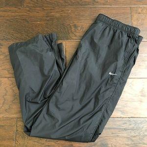 Vintage Nike Black Wind Nylon Pants Windbreaker